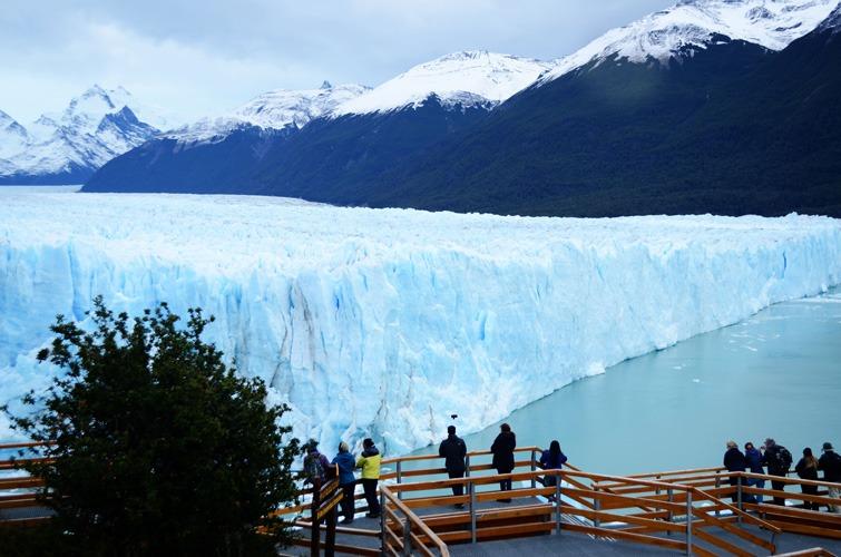 5 fotos del otoño en el Glaciar Perito Moreno