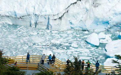 Las pasarelas del Glaciar Perito Moreno