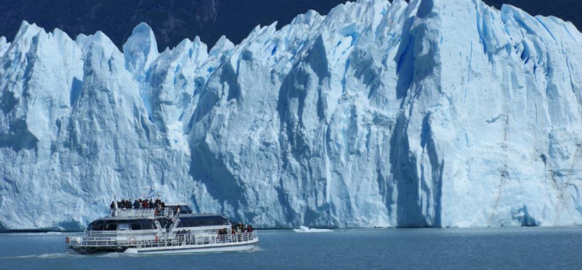 Las paredes del Glaciar