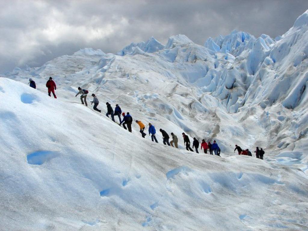 Trekkking en el Glaciar Perito Moreno