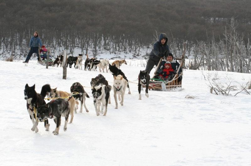 Nieve en Ushuaia
