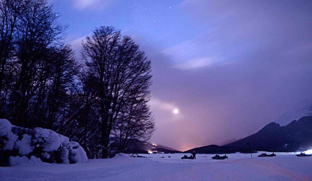 Excursiones nocturnas en Ushuaia