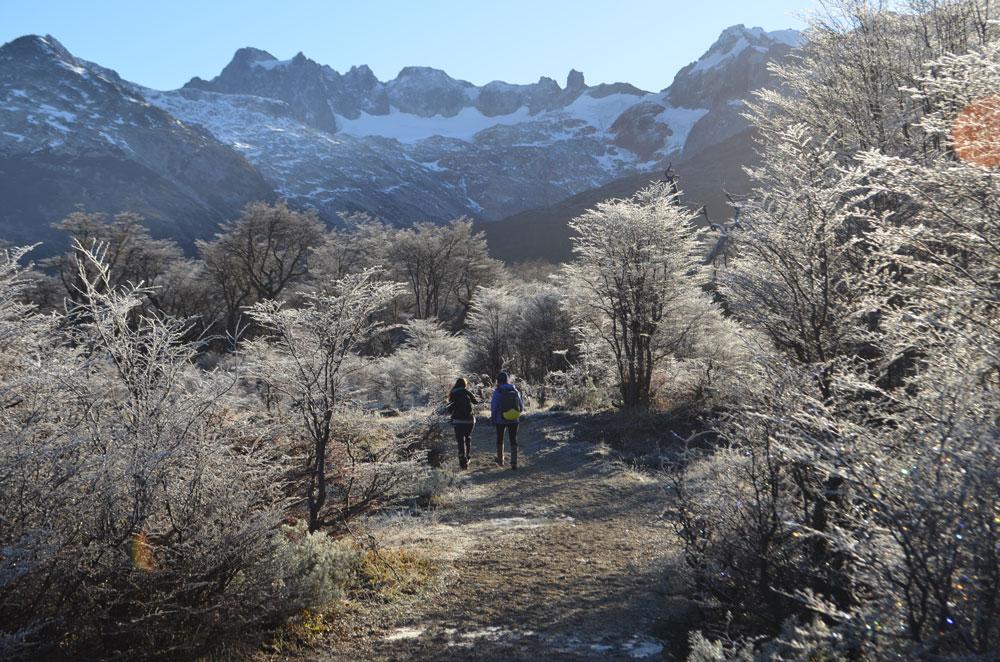 Laguna Esmeralda, trekking