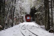 Viaje por el Tren de los presos en invierno