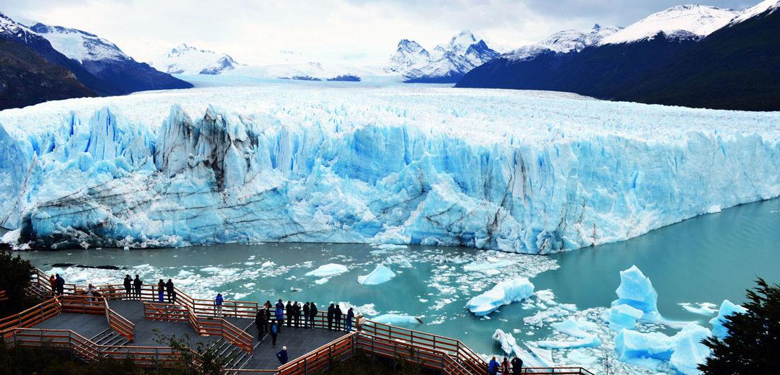 rompimiento del Glaciar Perito Moreno.