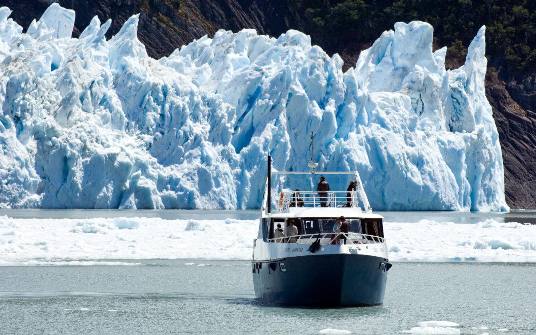 Así son los rompimientos en el Glaciar Perito Moreno