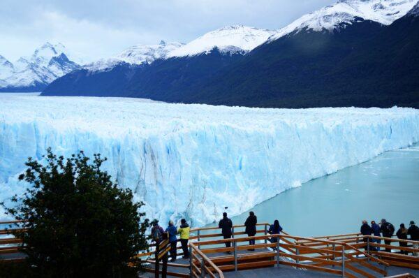 Vista al Glaciar Perito Moreno