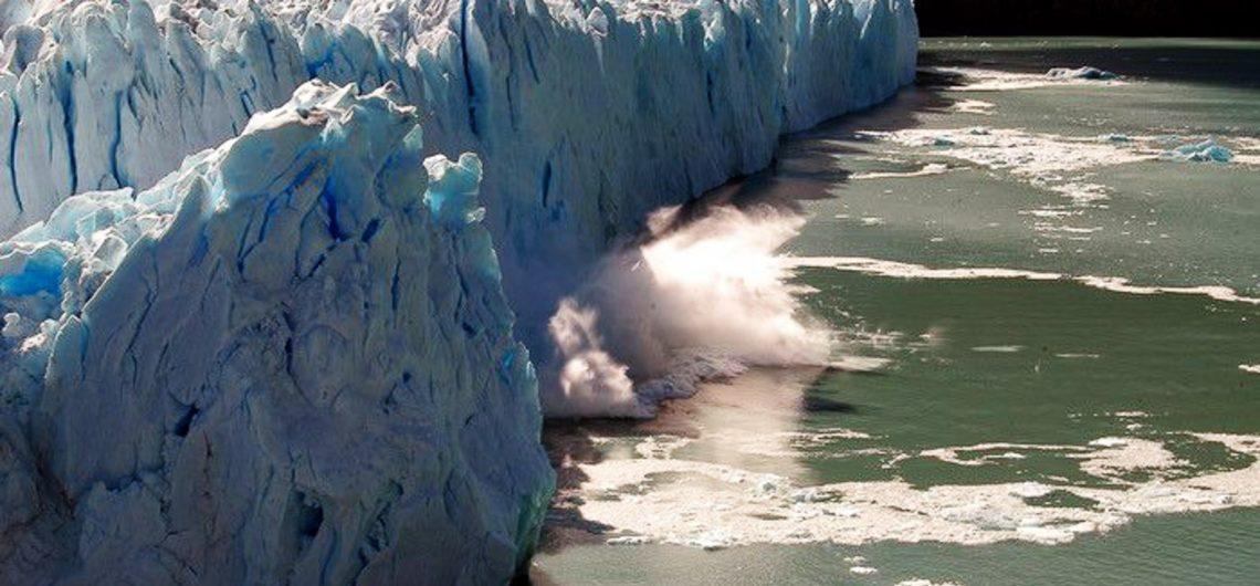 desprendimiento del Glaciar Perito Moreno