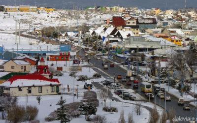 Invierno en Ushuaia: ¡Llegó la nieve!