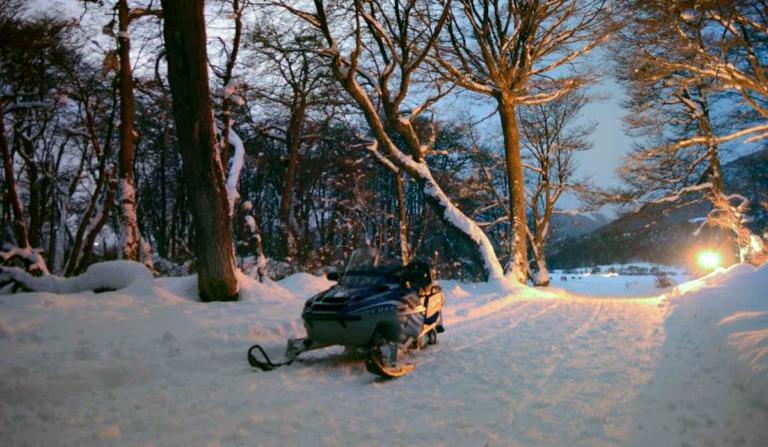 excursiones en la nieve, Ushuaia